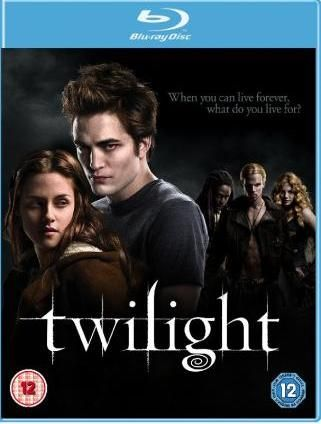 jacquette officielle du dvd twilight blue ray sortie le 21 mars le monde de francesca. Black Bedroom Furniture Sets. Home Design Ideas