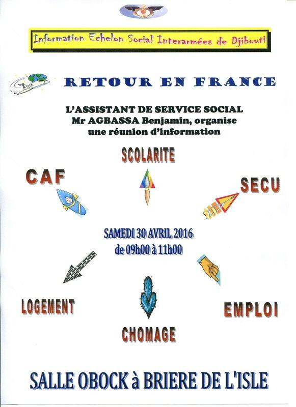 Réunion Retour en France