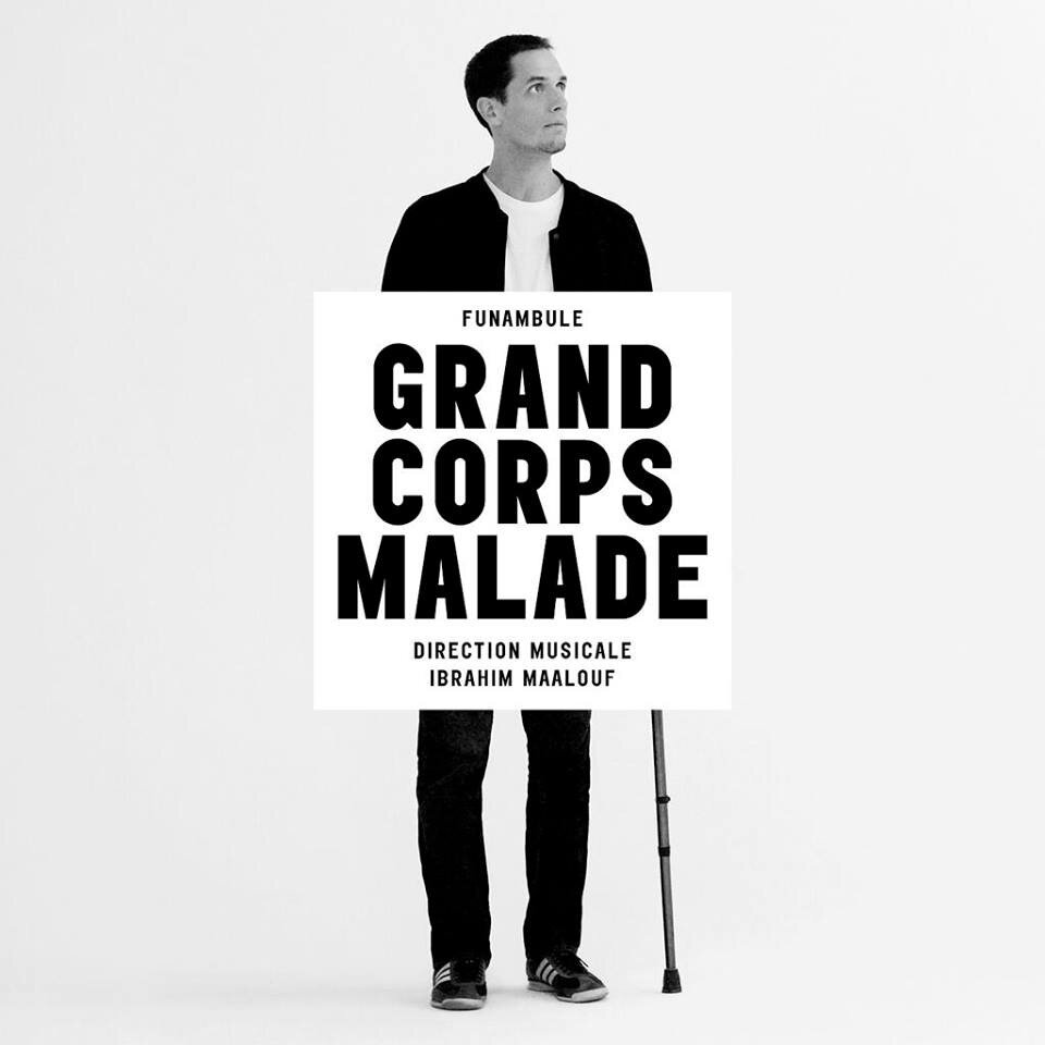 """Funambule"", Grand Corps Malade (sortie 28/10/2013)"