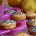Bouchées gourmandes citron pavot sans gluten