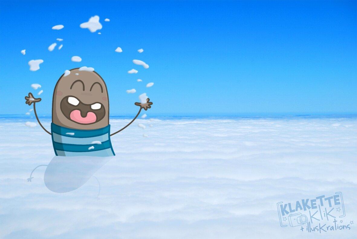 Bain dans les nuages