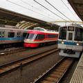 Odakyû 7000系 & 2000系, Umegaoka eki