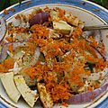 Salade complète au poulet