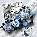 With a French Touch - Kit by Klonka's Scrapbook Designs