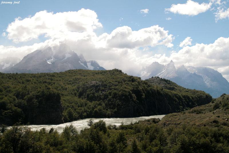 montagnes et forets au Paine