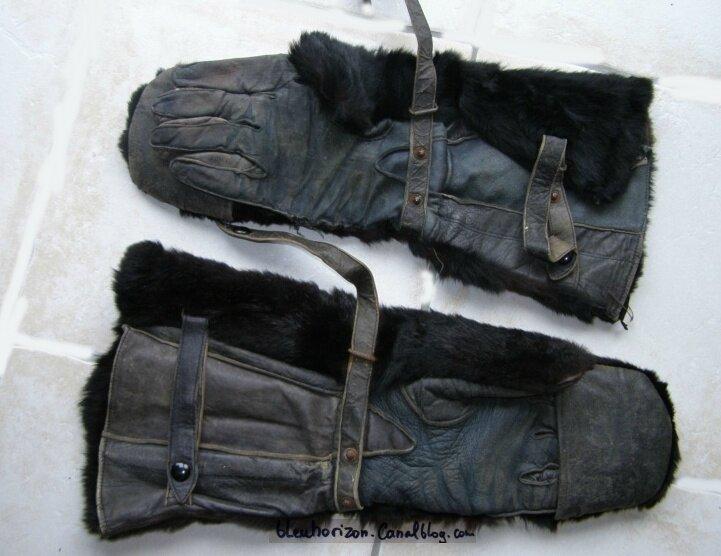 gants de pilote allemand flieger bekleidungsamt Döberitz 1918