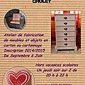 Atelier meubles en carton cholet