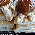 Mille feuilles aux Marrons