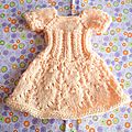 Robe tricot cherie corolle