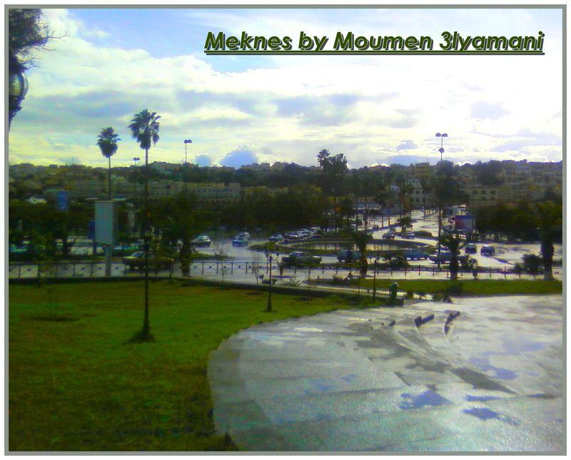 Vue sur Médina Meknes Nov 2008