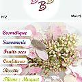 Bbb e-mag beauté, bien-être et bon-goût, vient de paraître......venez le découvrir...