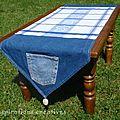 Idées de nappes pour tables basses diy
