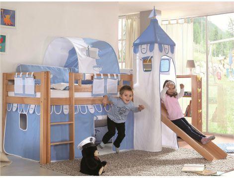 lit chateau pour fille amazing disney princesse de dessin anim d imprim ensemble de literie. Black Bedroom Furniture Sets. Home Design Ideas