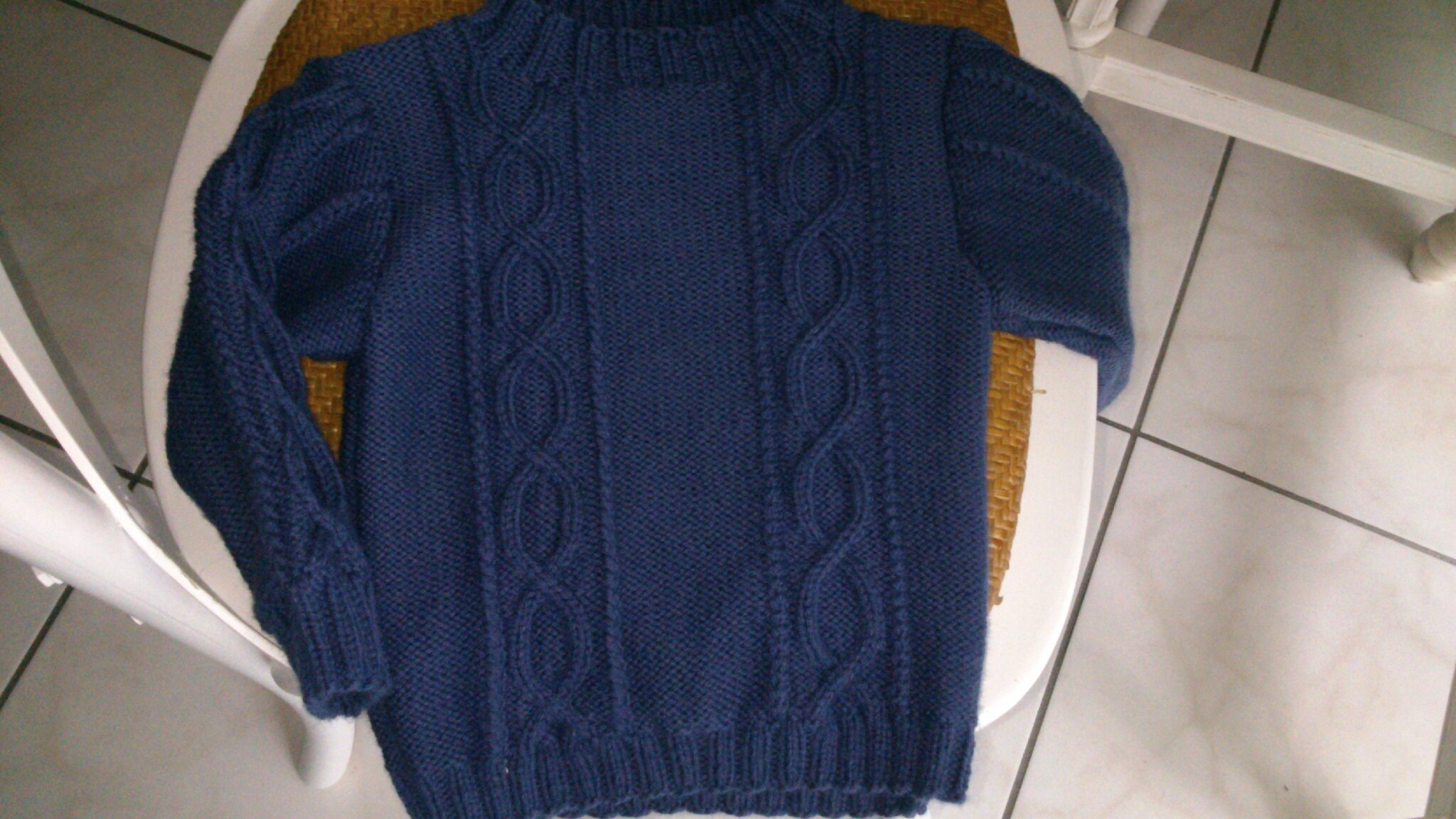 Super tricot pull garcon 6 ans RE92