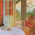 Pierre Bonnard - Dining room in the country