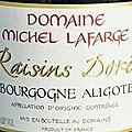 Michel lafarge (volnay) ***