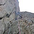 Alpinisme en Oisans.