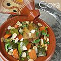 Tajine de pigeon au citron confit