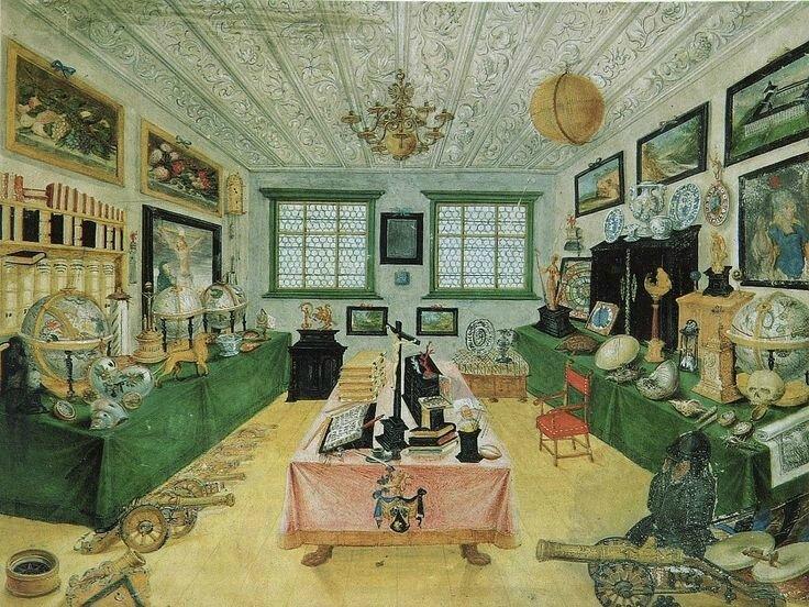 Joseph Arnold, Kunstkammer der Regensburger Familie Dimpfel, 1668