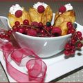 Crêpes aux Fruits Rouges et à la Chantilly