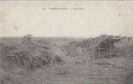 Vassincourt-tranchee