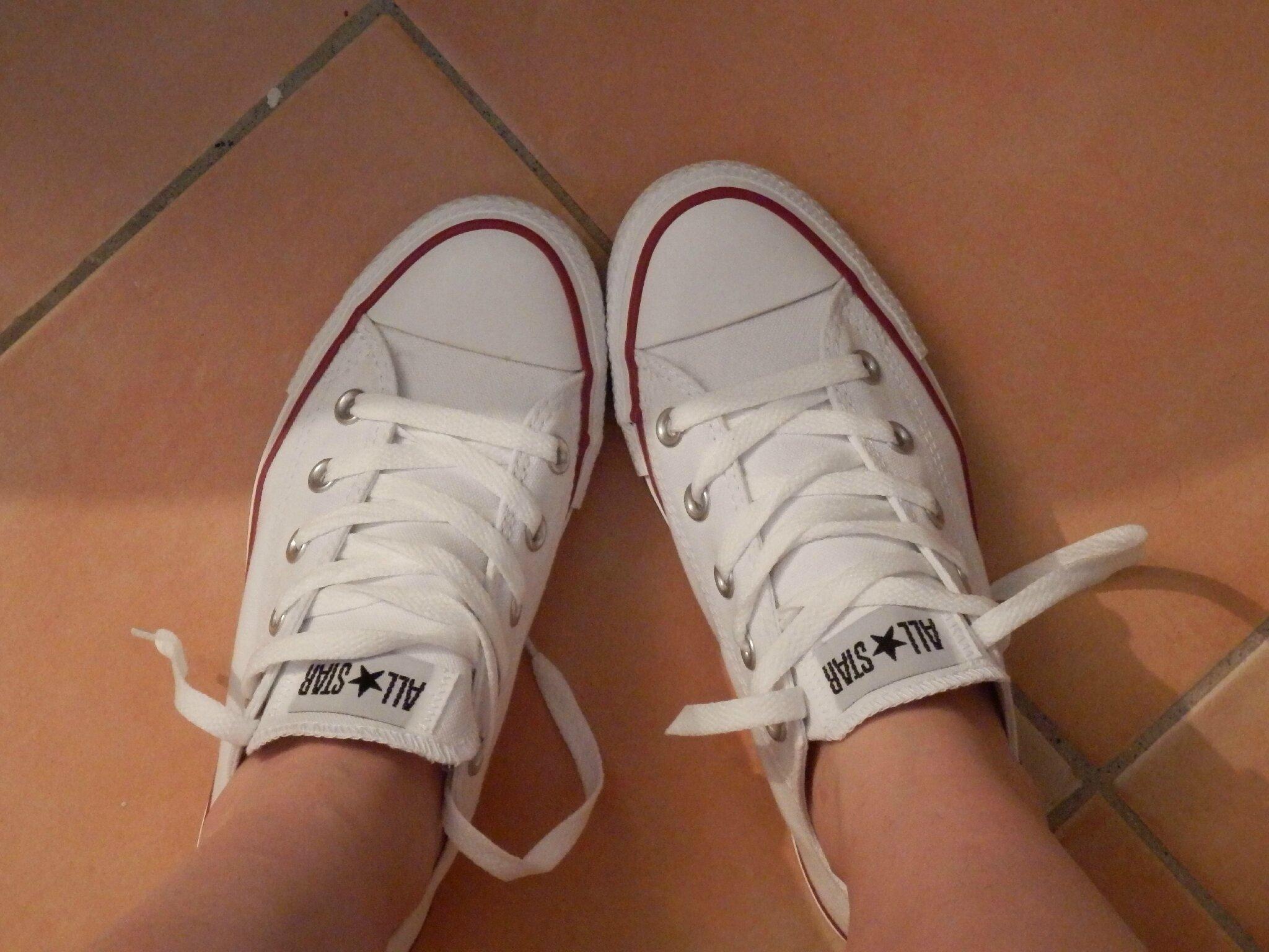basket imitation converse blanche