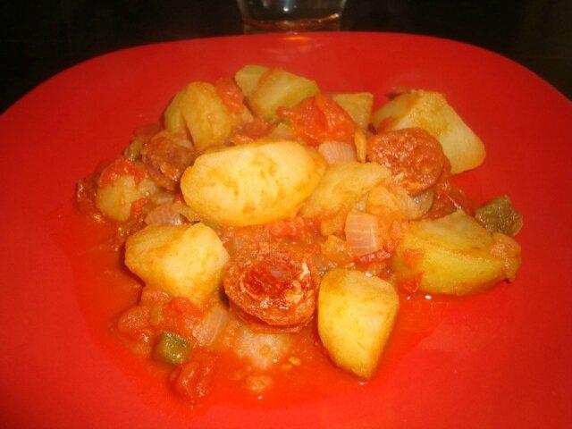 mijoté de légumes au chorizo 2