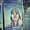 Le fail du jour - mulhouse - le fn colle en septembre 2013 des affiches pour les legislatives ... de juin 2012