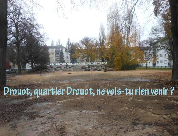 Drouot, quartier Drouot, ne vois-tu rien venir