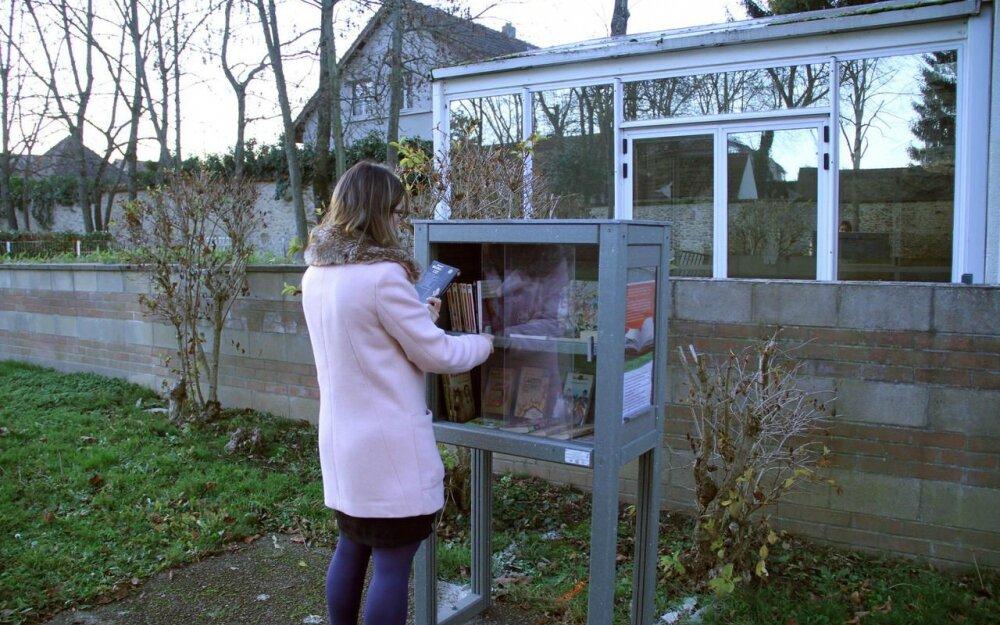 L'échange gratuit de livres, c'est dans la boîte !