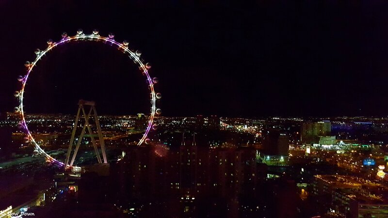 Grande roue by night