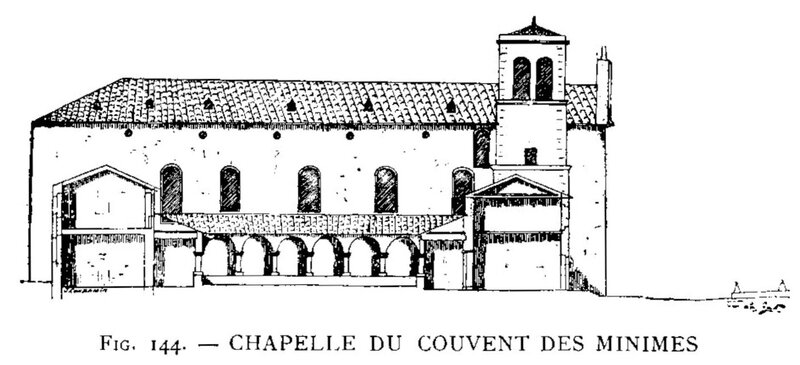 chapelle du couvent des Minimes fig 144 James Condamin