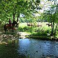 balade equestre gastronomique à La Lucerne d'Outremer (66)