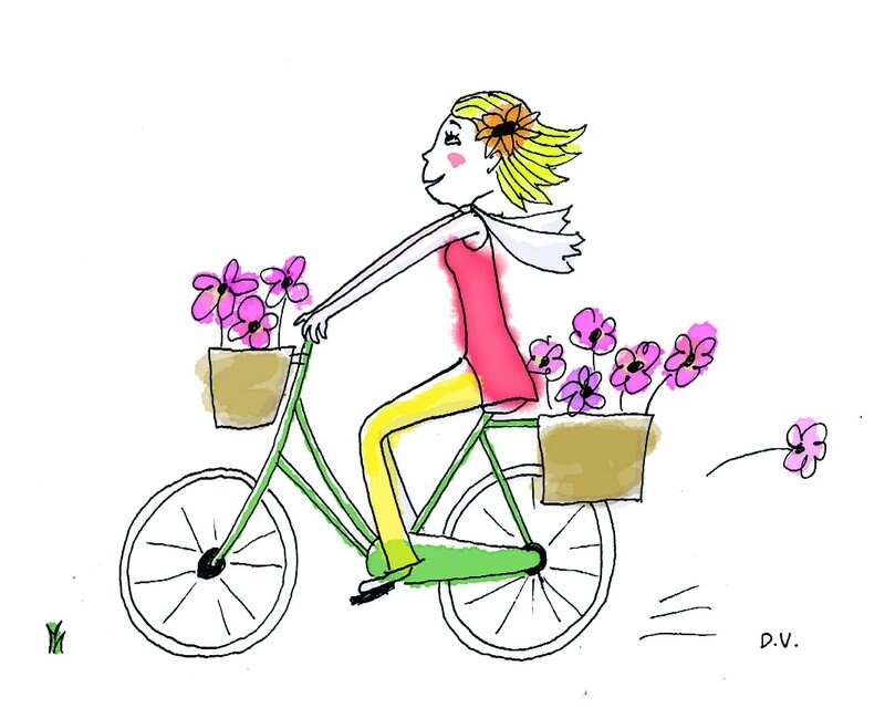 Saturdaymaille fever - Dessin velo facile ...