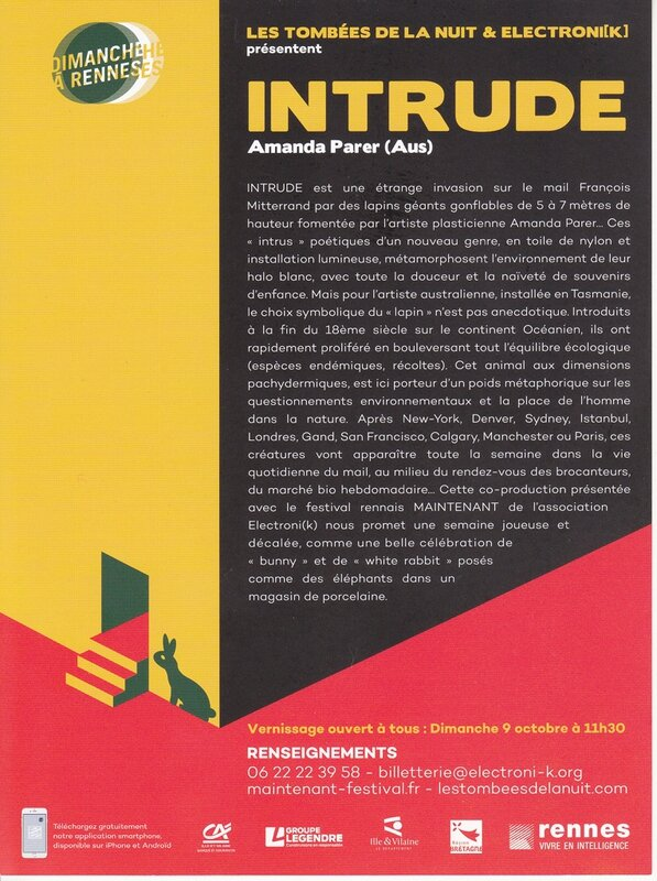 Intrude - prospectus de présentation
