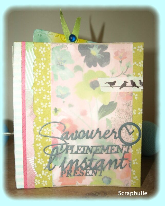 Mini-album Giverny-Scrapbulle-A