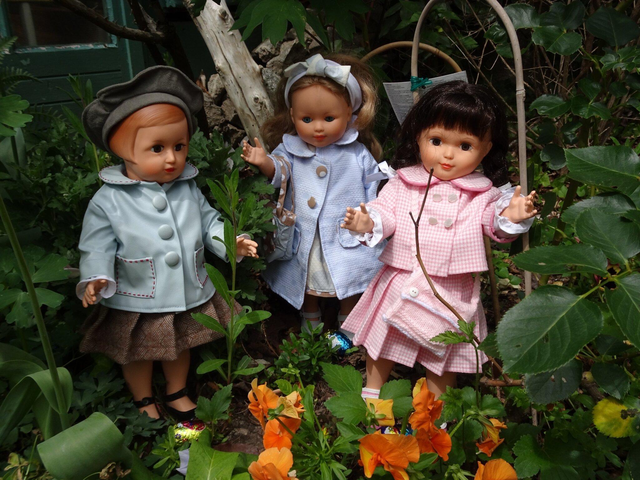 Paques chez les poupées de Marie