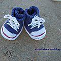 chaussons de bébé