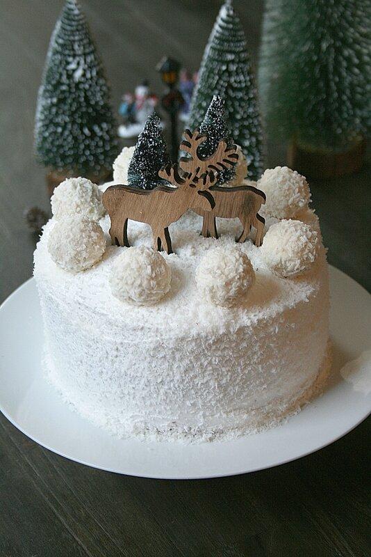 Layer cake façon raffaelo coco 1