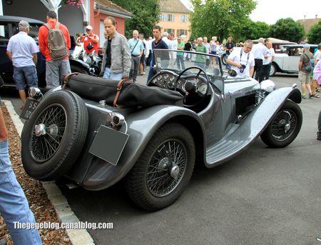 Jaguar SS100 roadster (Retrorencard aout 2012) 02
