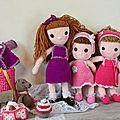 mes poupées au crochets