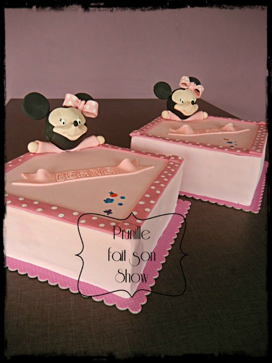 gateaux doudou minnie prunillefee 3