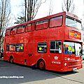 Metro Cammell Weymann metrobus double decker de 1983 (Retrorencard mars 2011)
