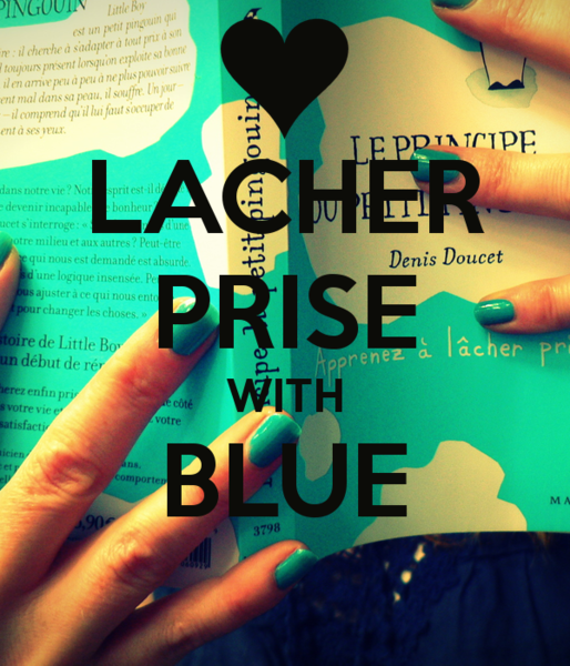 LACHER PRISE WITH BLUE