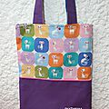 Le tote totally cats bag