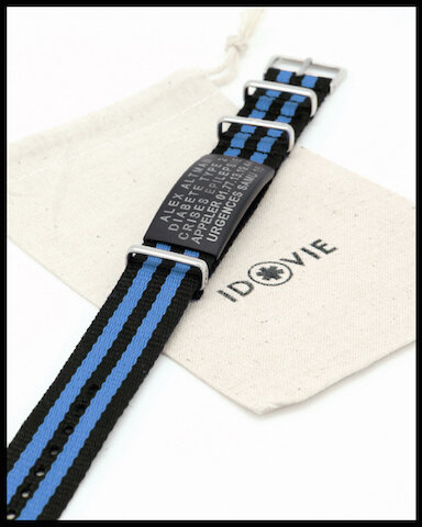 id vie bracelet medical stripe 2