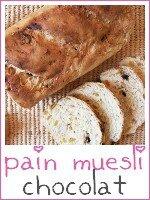 pain muesli chocolat - index