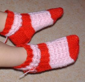 Chaussettes_rose_rouge3