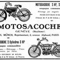 Motosacoche, la perfection en motocyclettes