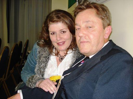 Simone Nejar e Valdir Bergmann. Delegados eleitos para o III CON